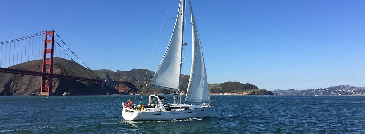 Join the Club and charter sailboats on San Francisco Bay!