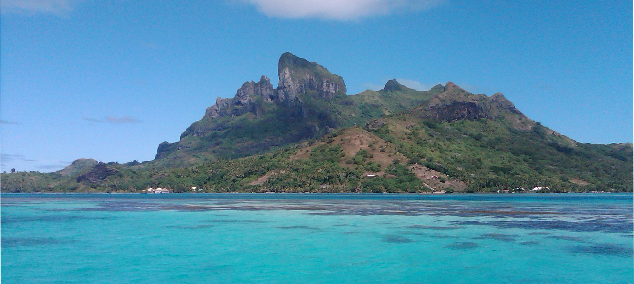 Bora Bora from the water