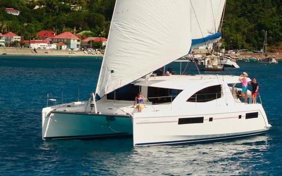Moorings 4800 Catamaran