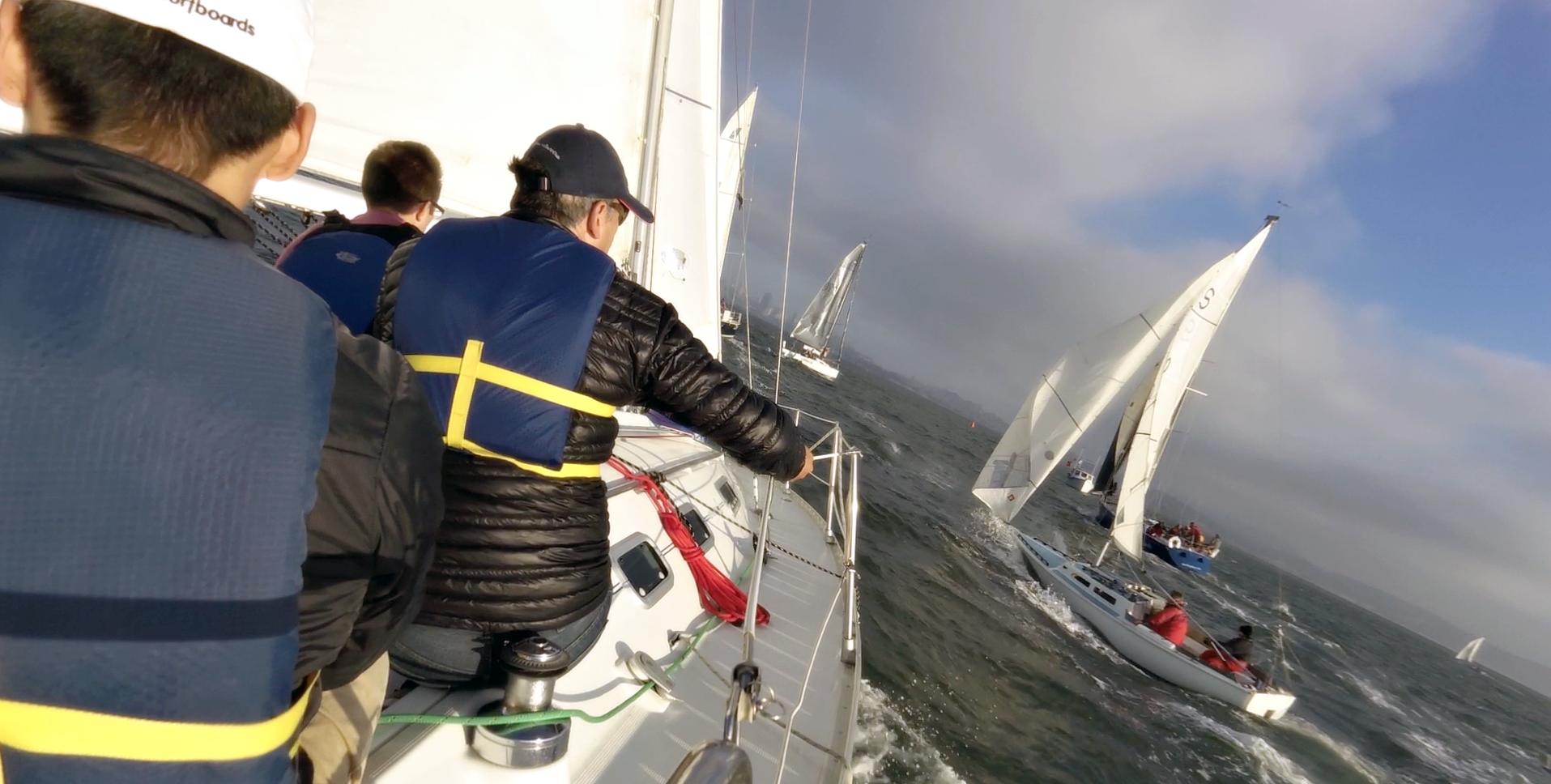 Racing on San Francisco Bay