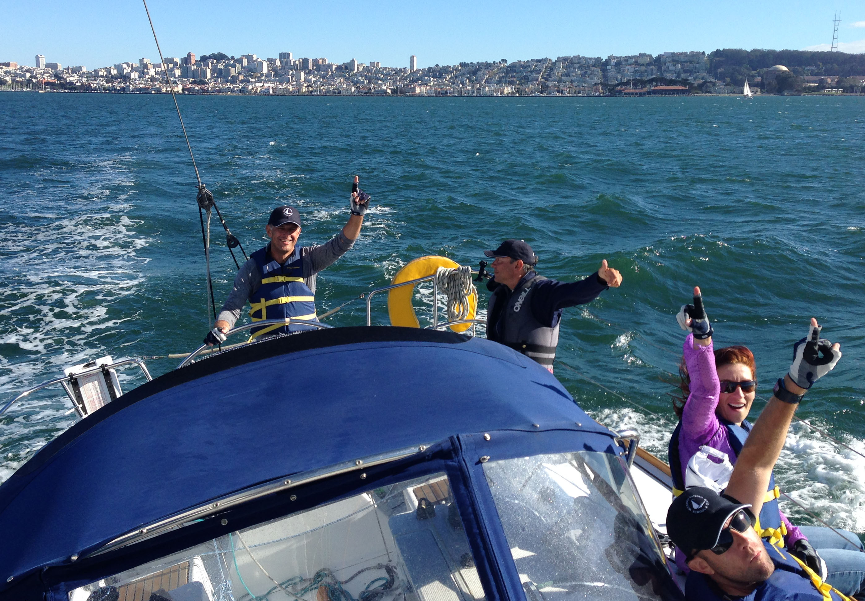 Captained Cruises Bay Area - Modern Sailing