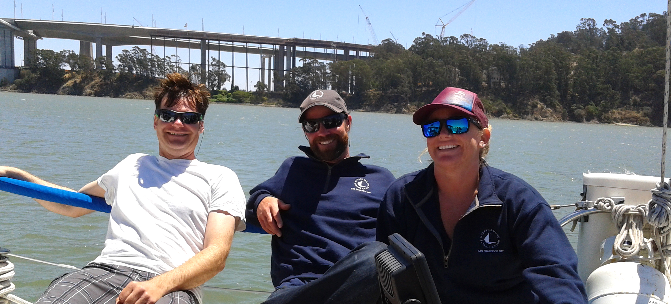 The Modern Expeditions crew enjoying Summer Sailstice