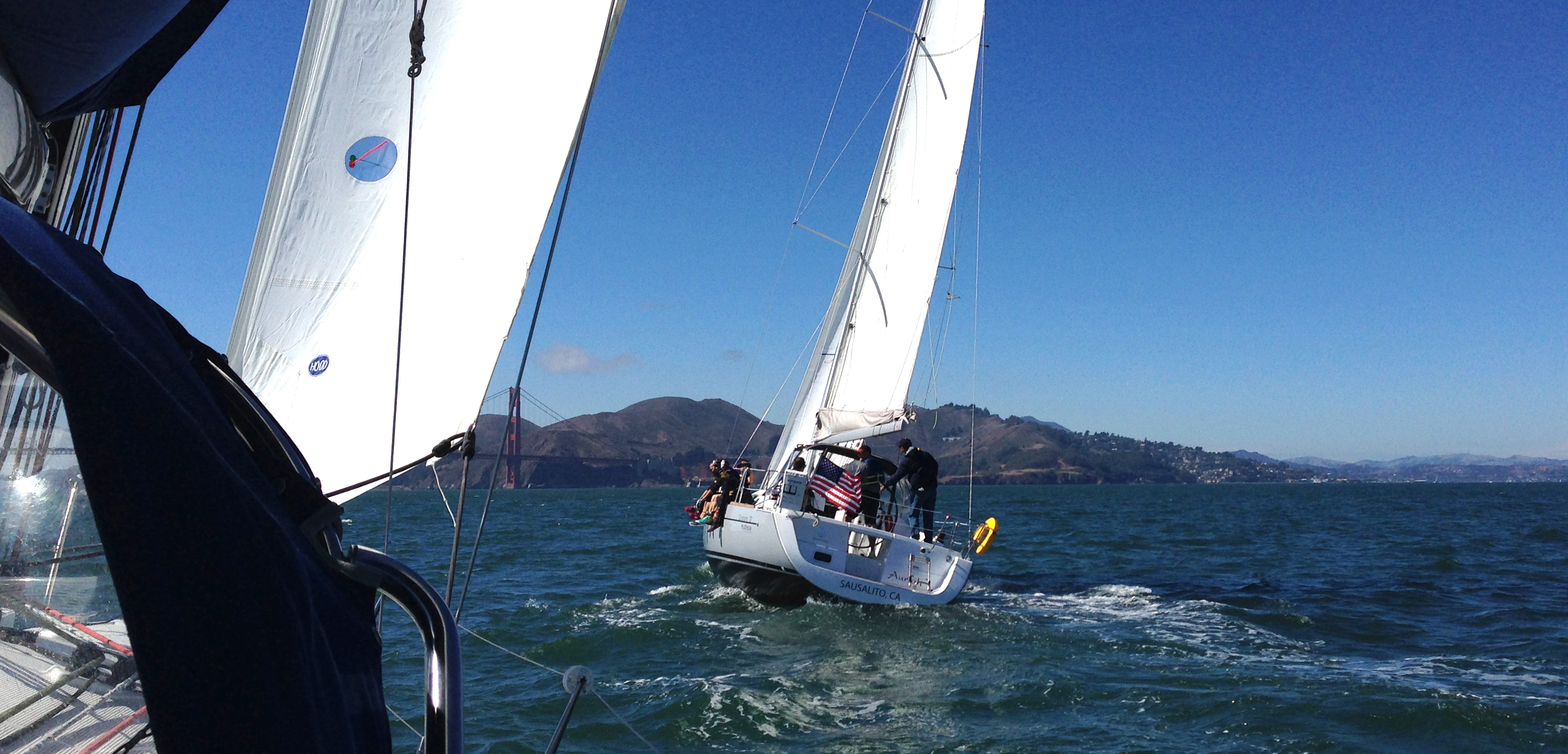 Corporate Team Racing on San Francisco Bay with Modern Sailing School & Club