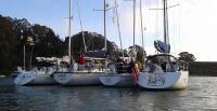 Modern Sailing hosting a Summer Sailstice Raft Up at Clipper Cove.