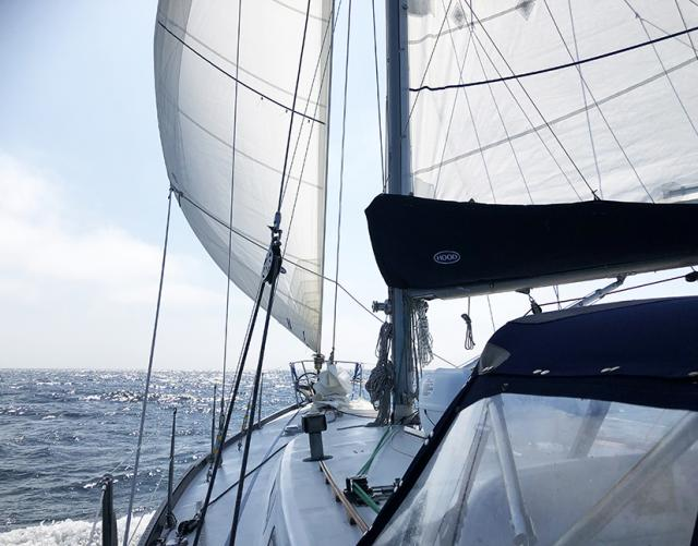 ASA 106, Advanced Coastal Cruising with Modern Sailing School & Club on the California Coast