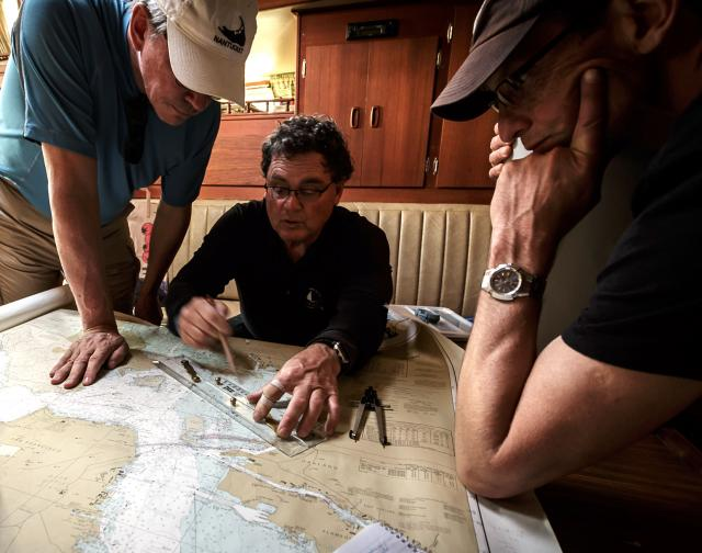 Modern Sailing teaches the ASA's Coastal Navigation course.