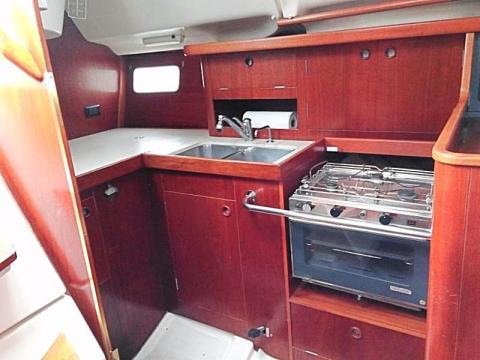 Beneteau 35 Galley charter