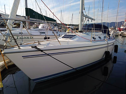 Charter sailboat Andiamo a Catalina 36