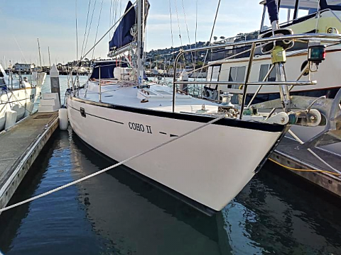 44 ft. Spencer 1330 sailboat for charter in Sausalito