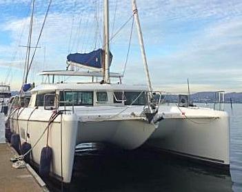 Lagoon 42 Catamaran for charter in San Francisco