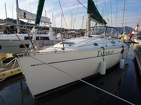 Beneteau 35 Talisman sailboat charter in San Francisco